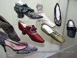 Photo of Haverhill-made shoes