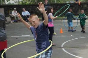 The Vine sponsored the 2nd Annual Portland Street Playground Block Party